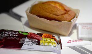 Essen, dass bei Swiss Air auf Flügen serviert wird und für Allergiker sind. (c) Swiss International Air Lines