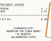 Buchtipp: Essen um zu leben – Gut essen um nur 1 Euro täglich